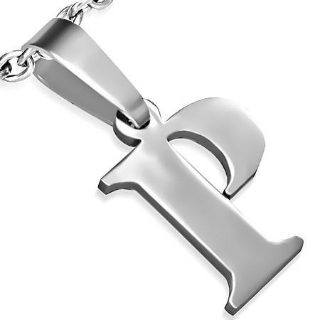 Ocelové přívěsky - písmeno P - DAMSON - Přívěsky z chirurgické oceli ... 4acb20a92dc