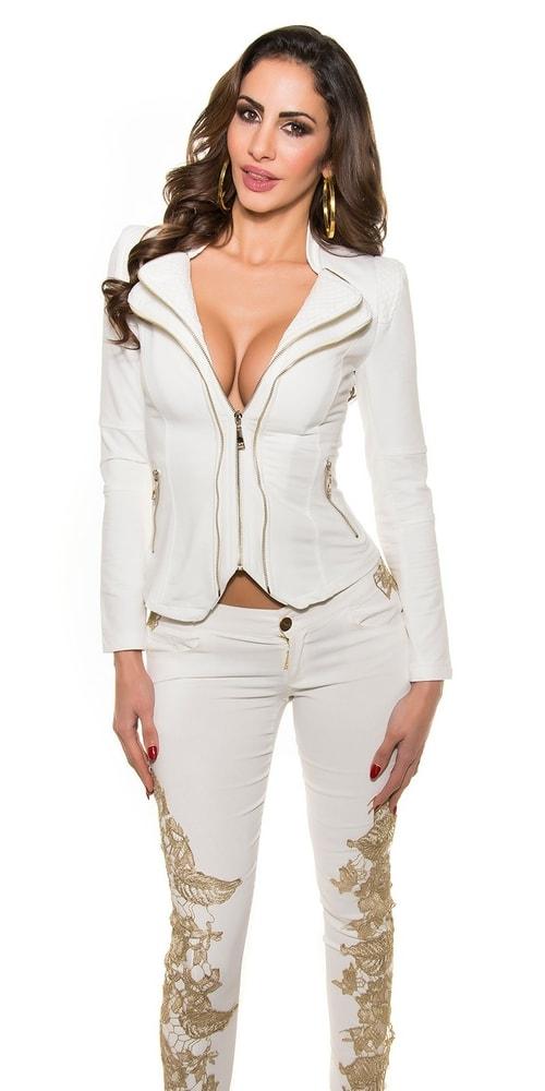 Trendy blejzr se zipy. Domů ›  Dámské oblečení ›  Dámské kabáty ›  Dámské  saka › ... dabb932ef6c