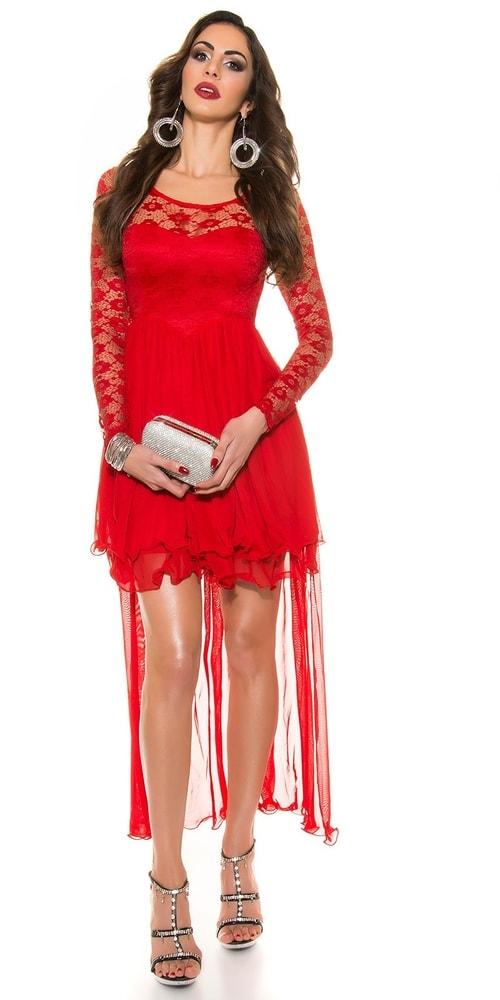Plesové krátke šaty Koucla in-sat1089re