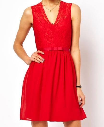 f06b349f290 Dámské šaty červené - DAMSON - Večerní šaty a koktejlové šaty - i ...