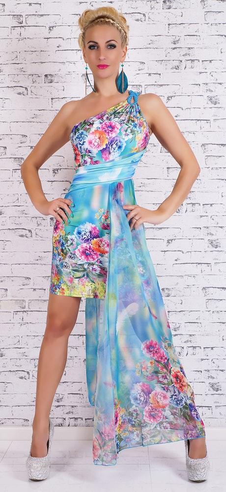 Dlhé farebné letné šaty - EU - Večerné šaty a koktejlové šaty - vasa ... 37ffe7a13ff