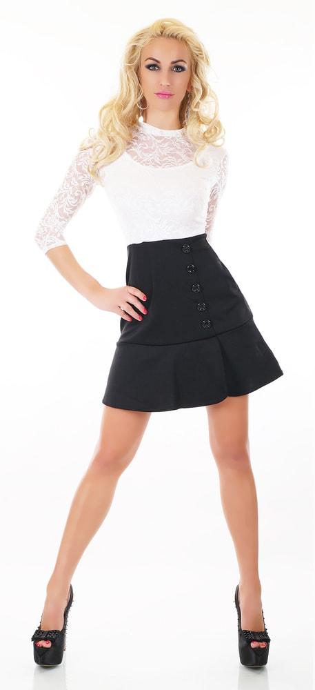 Čiernobiele dámske šaty - EU - Večerné šaty a koktejlové šaty - vasa ... 8ea93b15f84