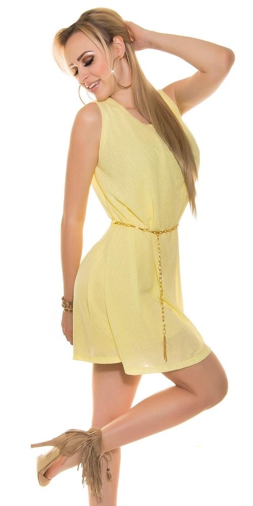 Vzdušné letné šaty s opaskom - Koucla - Krátke letné šaty - vasa ... dd20e1c80c5