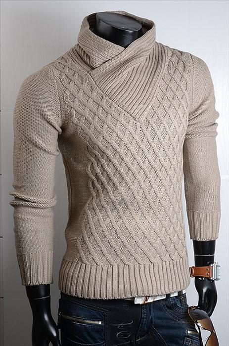 dlouhý dámský rolák dámské svetry pánské pletené svetry d9ea804771