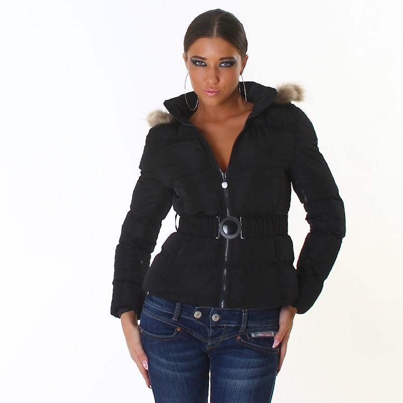 Elegantní dámská bunda - EU - Bundy dámské zimní - i-moda.cz 28255720233