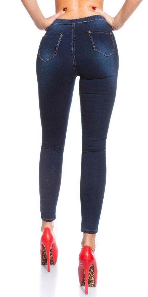 Skinny džínsy s vysokým pásom - Koucla - Dámske rifle - vasa-moda.sk 5e6f88ff1d