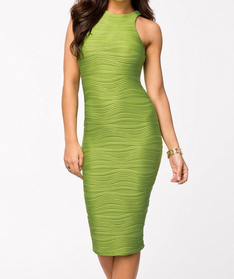 Dámské šaty zelené - DAMSON - Večerné šaty a koktejlové šaty ... f5c55b0bdb