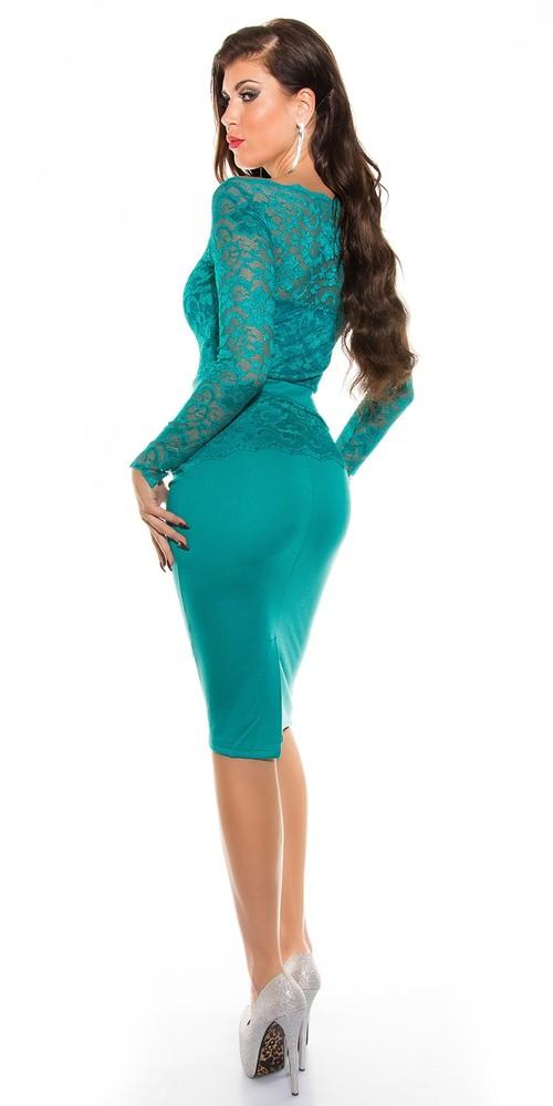 Spoločenské krajkové šaty - Koucla - Večerné šaty a koktejlové šaty ... 6fd9e917bb4