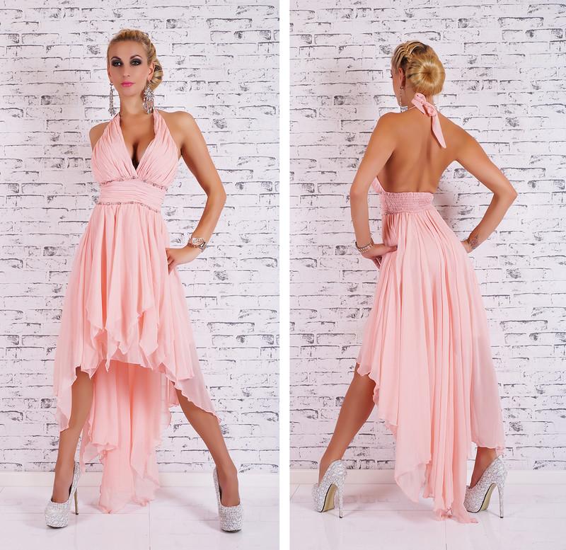 Dlouhé plesové šaty růžové - EU - Večerní šaty a koktejlové šaty - i ... acfccd6718