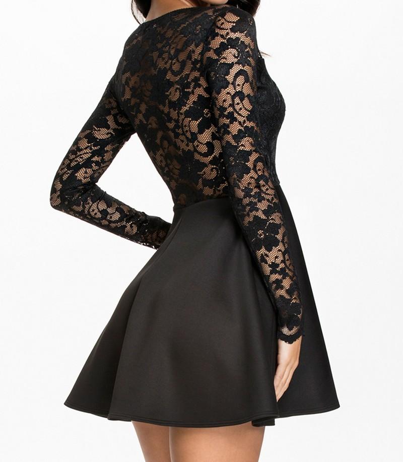 8c2584fedd9 Černé krajkové šaty - DAMSON - Večerní šaty a koktejlové šaty - i ...