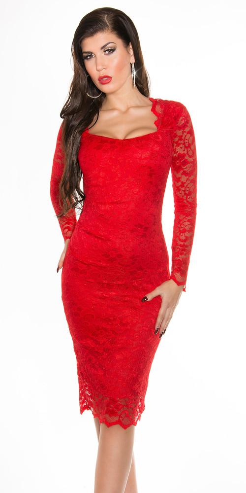 Večerné červené šaty - Koucla - Večerné šaty a koktejlové šaty - vasa ... fbe9fb209b1