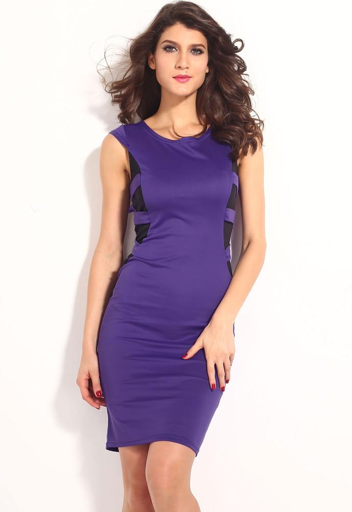 Fialové dámské šaty - DAMSON - Večerní šaty a koktejlové šaty - i ... aa3762e8cb