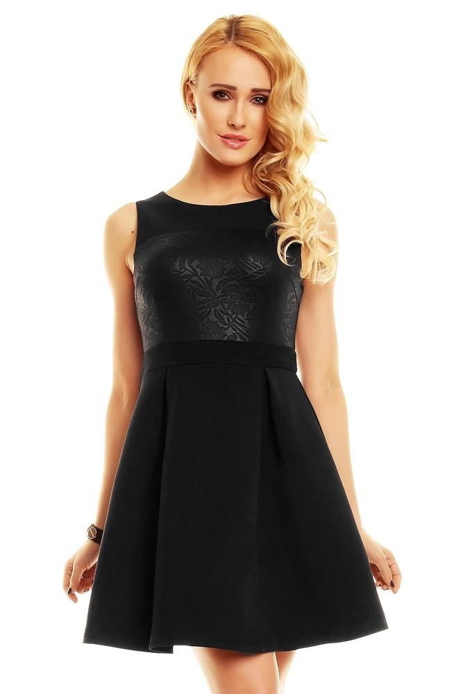 92df3208428 Koktejlové šaty černé - EU - Krátke plesové šaty - vasa-moda.sk