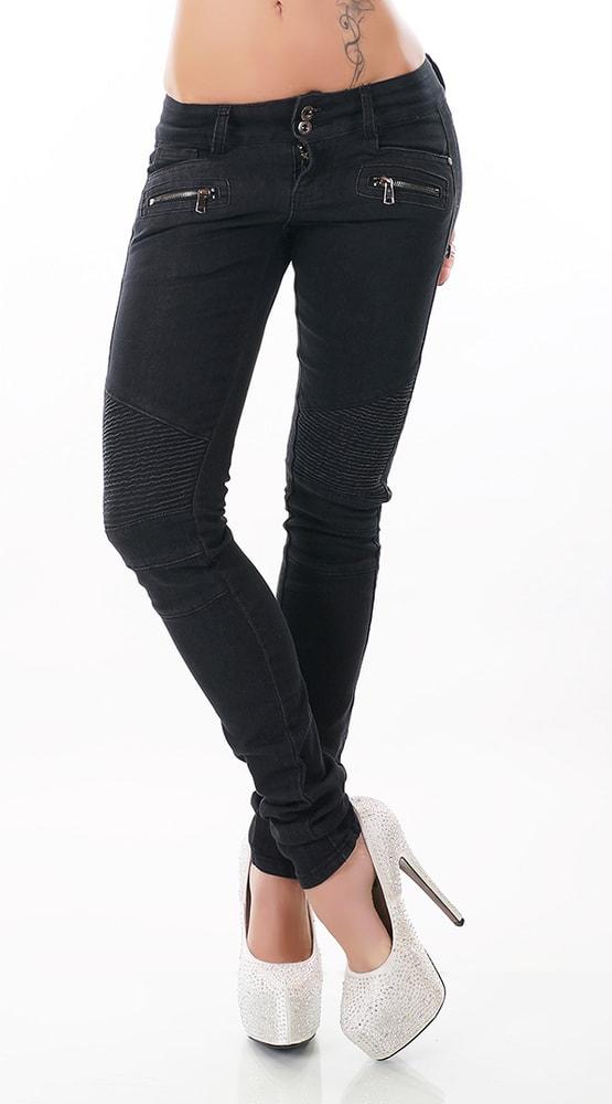 Dámské slim jeans - Lexxury - Dámské rifle - i-moda.cz 015a436fd3