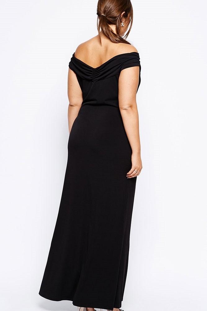 b1b698c26cb Dlouhé večerní šaty pro plnoštíhlé - DAMSON - Večerní šaty a ...