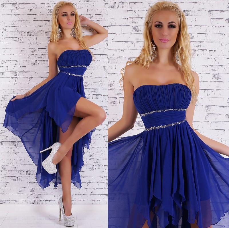 Plesové šaty - modré - EU - Dlhé plesové šaty - vasa-moda.sk ff1bbaa3f5
