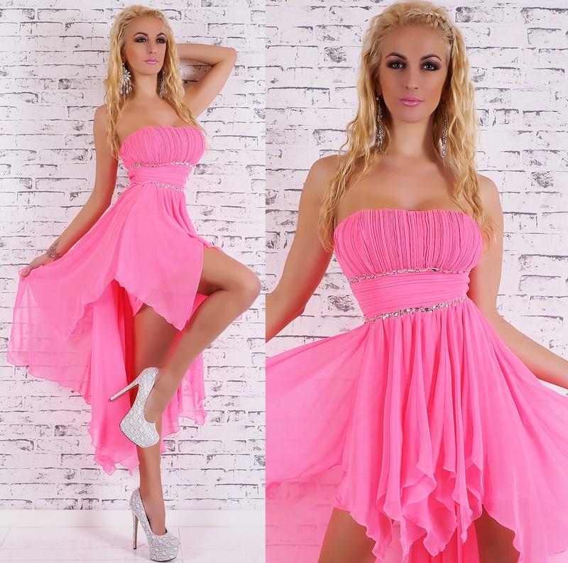 Společenské šaty dlouhé - růžové - EU - Večerní šaty a koktejlové šaty ... c17ab505c2