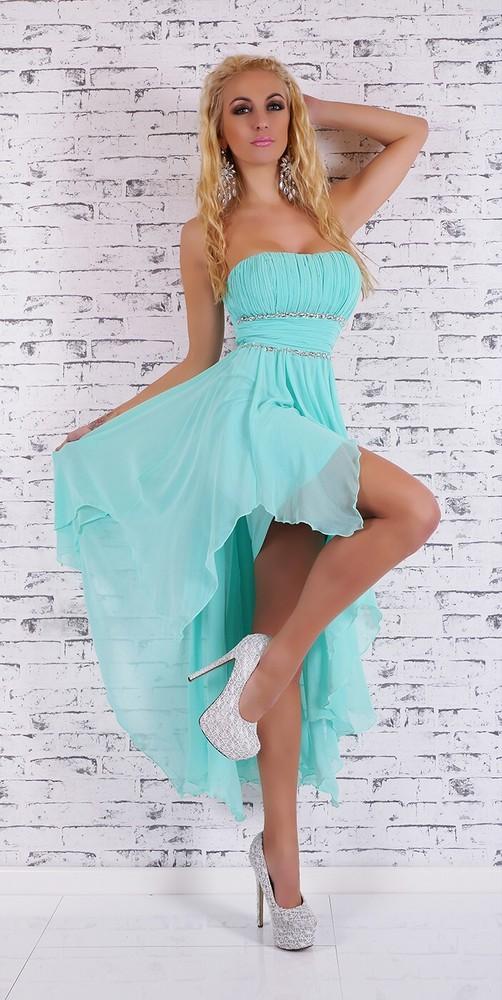 e64158c1457 Společenské mentolové šaty - EU - Večerní šaty a koktejlové šaty - i ...