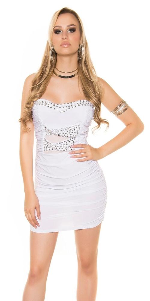 Spoločenské dámske šaty - S/M Koucla in-sat1346wh