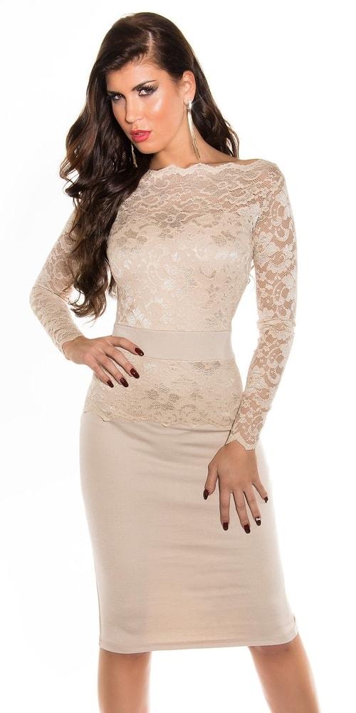 Krajkové společenské šaty-II.jakost - Koucla - Výpredaj oblečenia II ... fb63844fc37