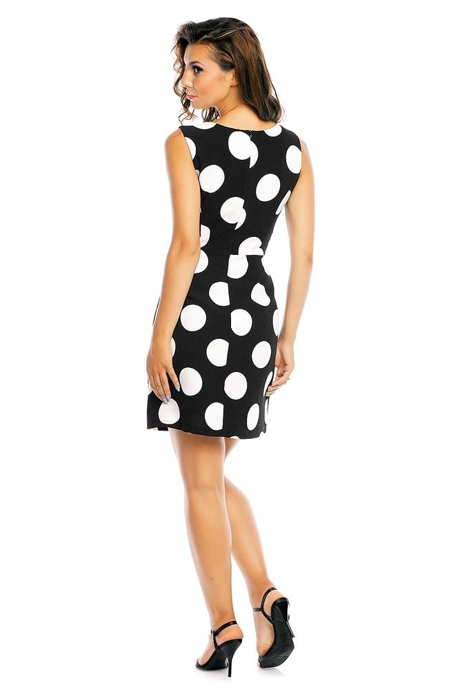 Letné bodkované šaty - EU - Krátke letné šaty - vasa-moda.sk 55c2e24c074