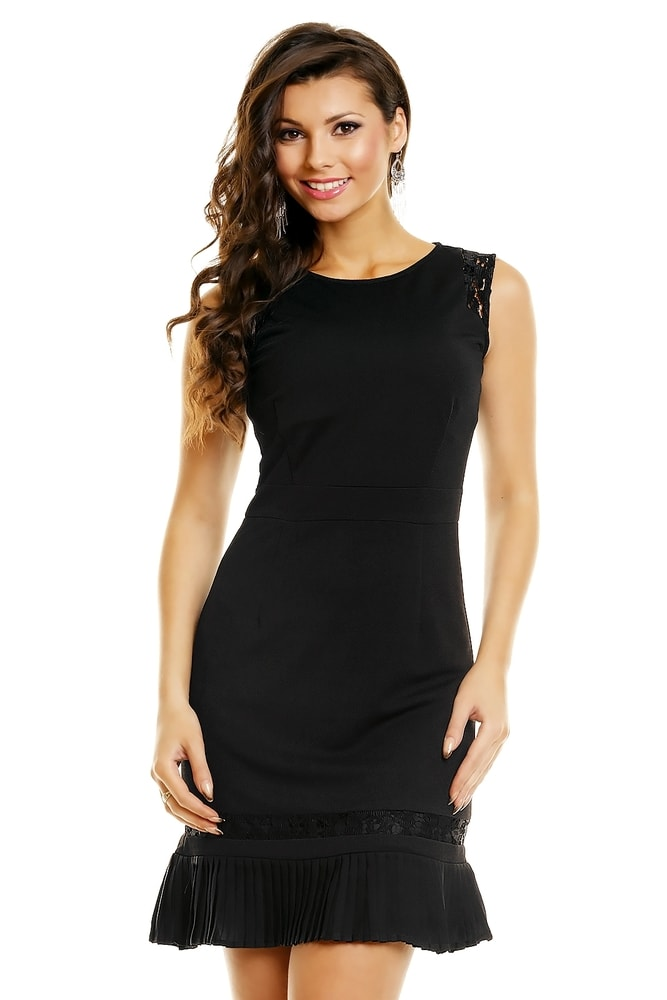 Čierne koktejlové šaty - Mayaadi - Večerné šaty a koktejlové šaty ... fc51daf8d52