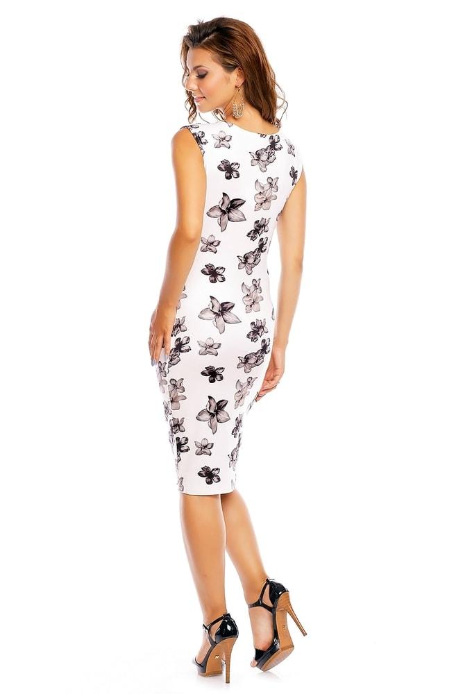Čiernobiele kvetované šaty - EU - Večerné šaty a koktejlové šaty ... 9f2ee655ef2
