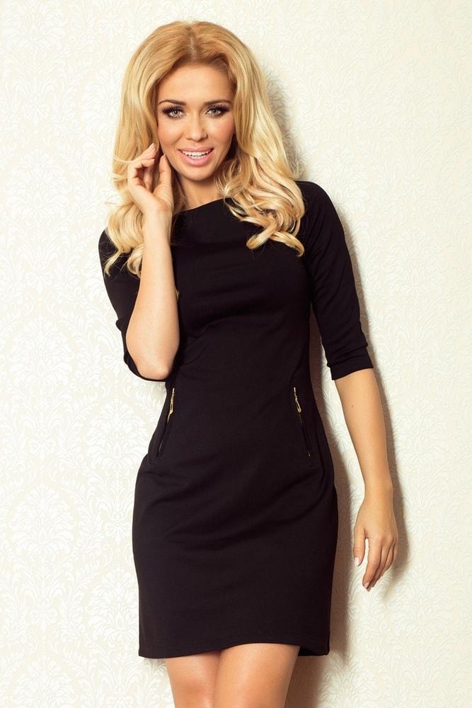 Dámske šaty čierne 38-16 - Numoco - Šaty pre voľný čas - vasa-moda.sk 10cfde15628
