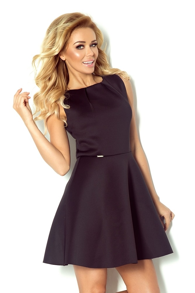 Čierne spoločenské šaty 78-2 - Numoco - Večerné šaty a koktejlové ... 648743b0bb3