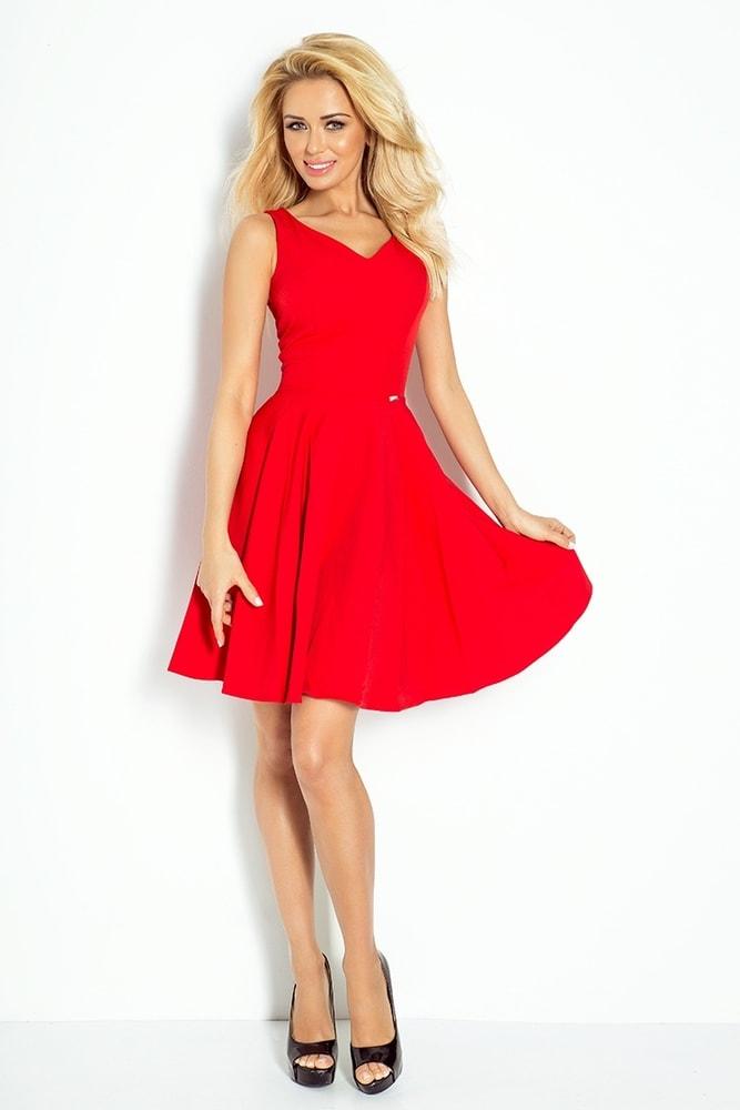 Červené dámske šaty 114-3 - Numoco - Večerné šaty a koktejlové šaty ... bf66a2e526