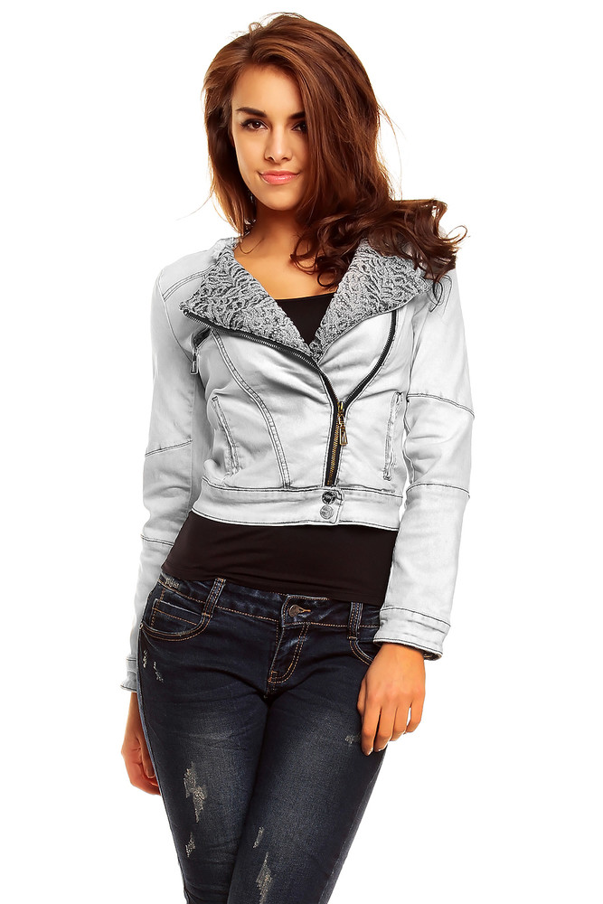 Krátká džínová bunda - EU - Bundy dámske jarné a jesenné - vasa ... 8516b5cae6c