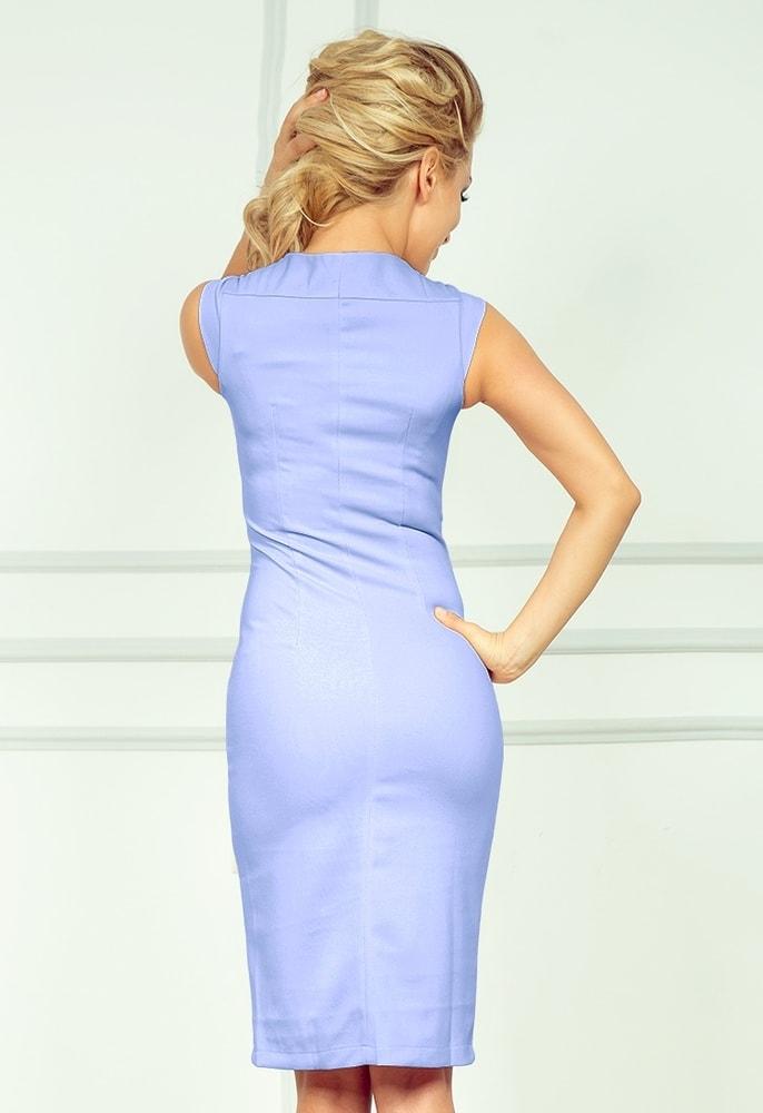 Svetlo modré dámske šaty 53-21 - Numoco - Business šaty - vasa-moda.sk 6592dafcd20