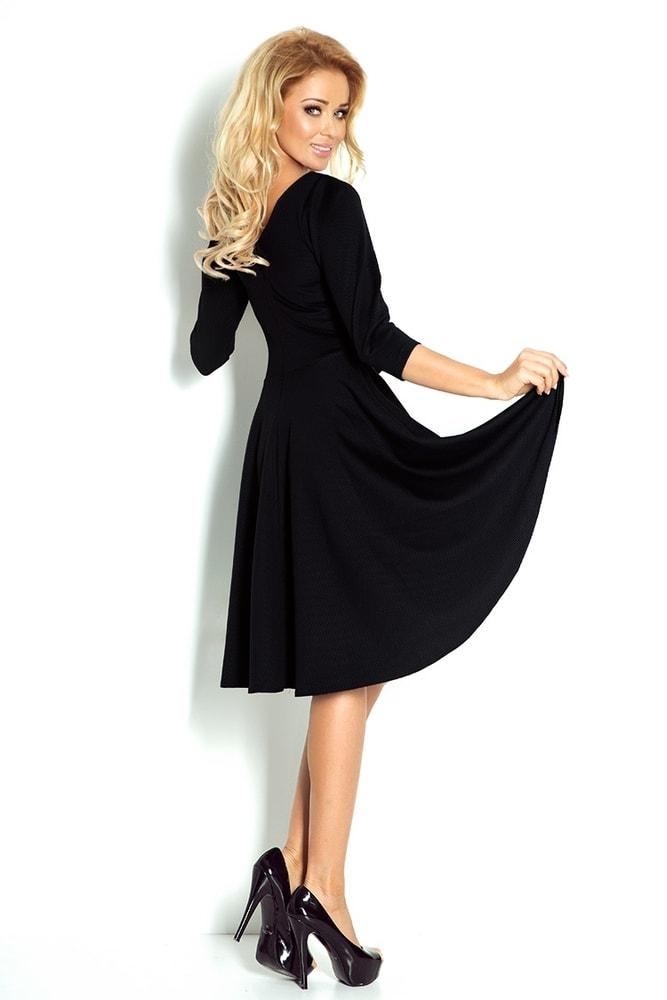 Dámske čierne šaty 90-3 - Numoco - Večerné šaty a koktejlové šaty ... bb4fb05fb88