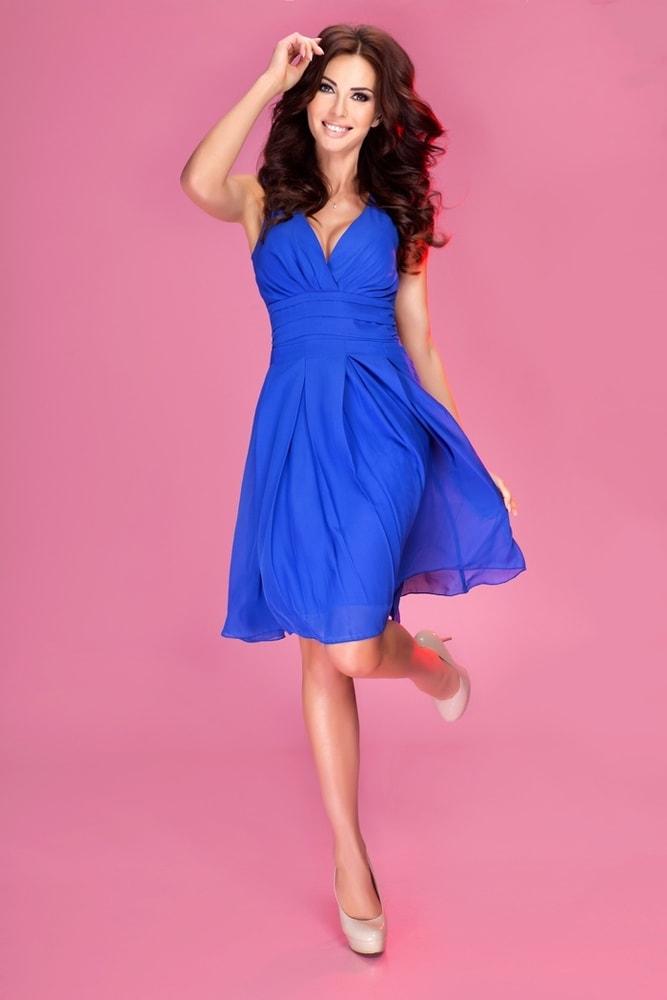 Šifónové šaty 35-1 - Numoco - Krátké plesové šaty - i-moda.cz 14d6d5d02e