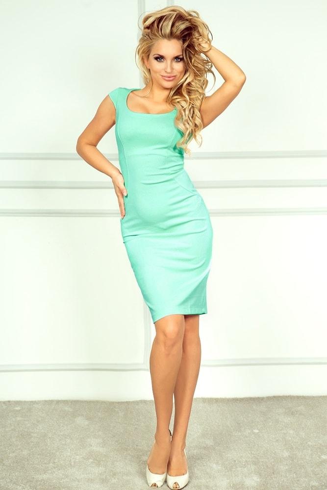e6abf61a6bb Elegantní letní šaty 53-1A - Numoco - Business šaty - i-moda.cz