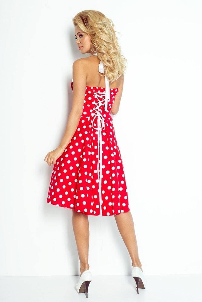 Retro šaty s bodkami 30-14 - Numoco - Skater šaty - vasa-moda.sk 3feb4f1322