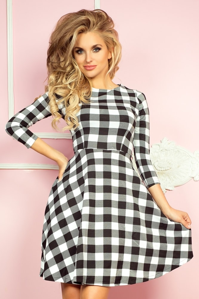 Dámské moderní šaty 49-1 - Numoco - Business šaty - i-moda.cz 8049b5f62a