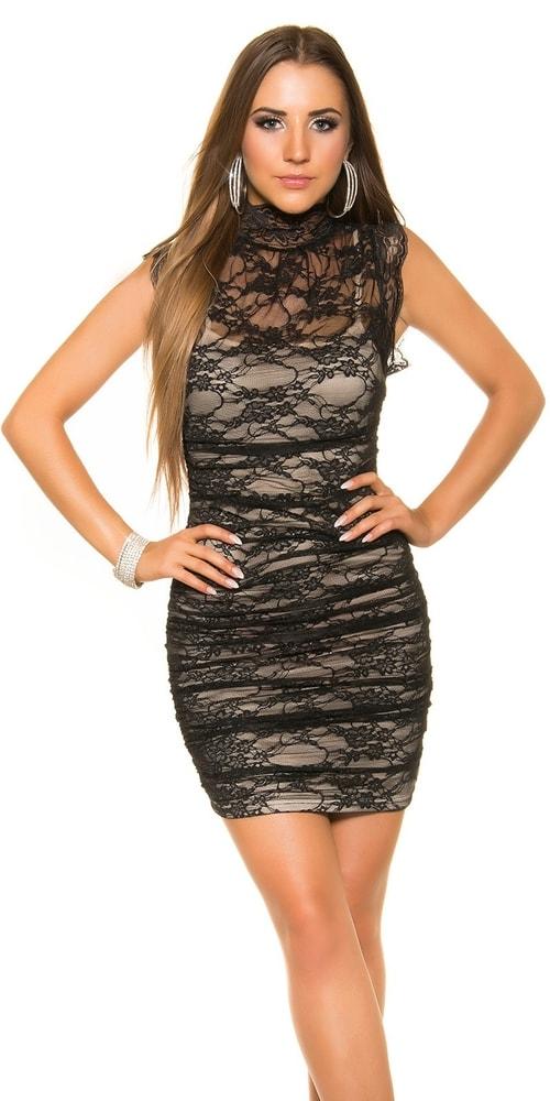 8257386b0699 Čipkované dámske šaty - Koucla - Večerné šaty a koktejlové šaty ...