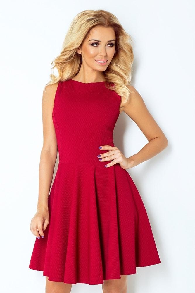 Elegantné dámske šaty 125-1 - L Numoco nm-sat125bo