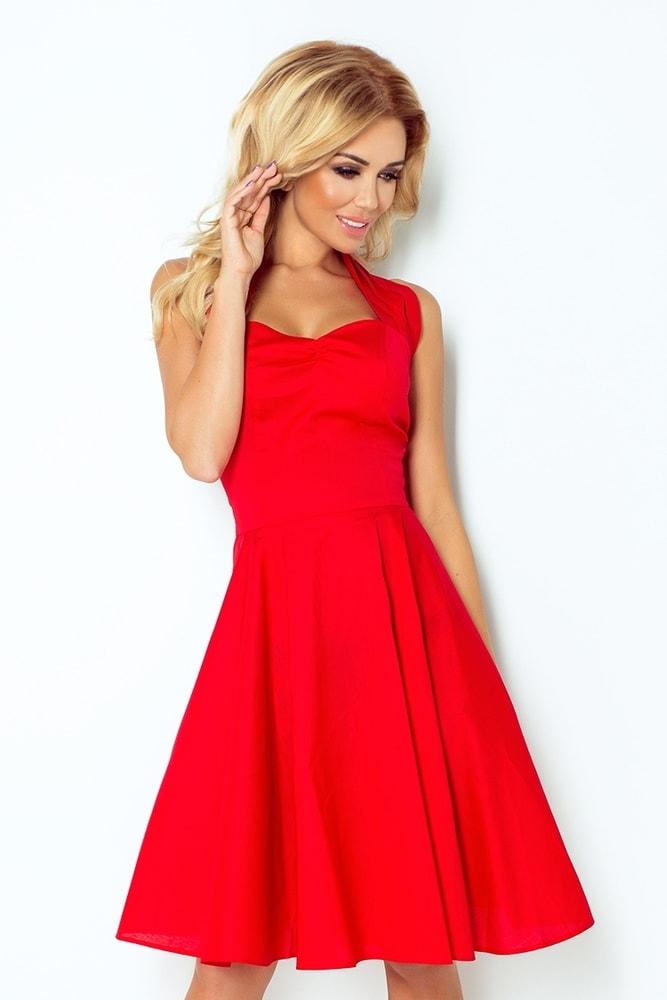 115c36fa8 Dámske červené šaty 30-18 - Uni Numoco nm-sat30-18
