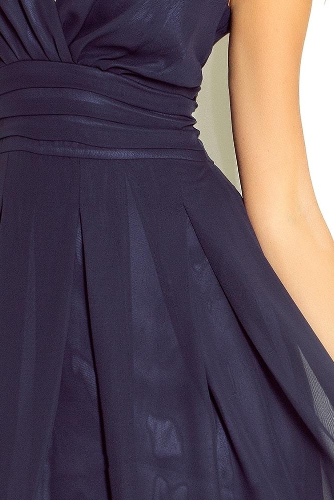 Šifonové společenské šaty 35-5 - Numoco - Krátké plesové šaty - i ... 3a6bd60a4e