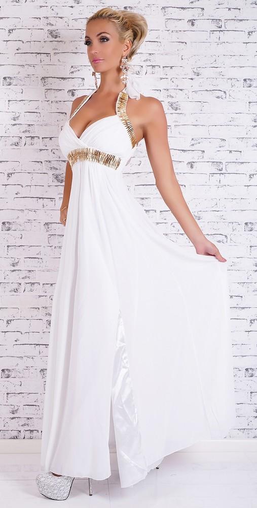 Večerní šaty dlouhé - bílé - EU - Večerní šaty a koktejlové šaty - i ... 966e17bb95
