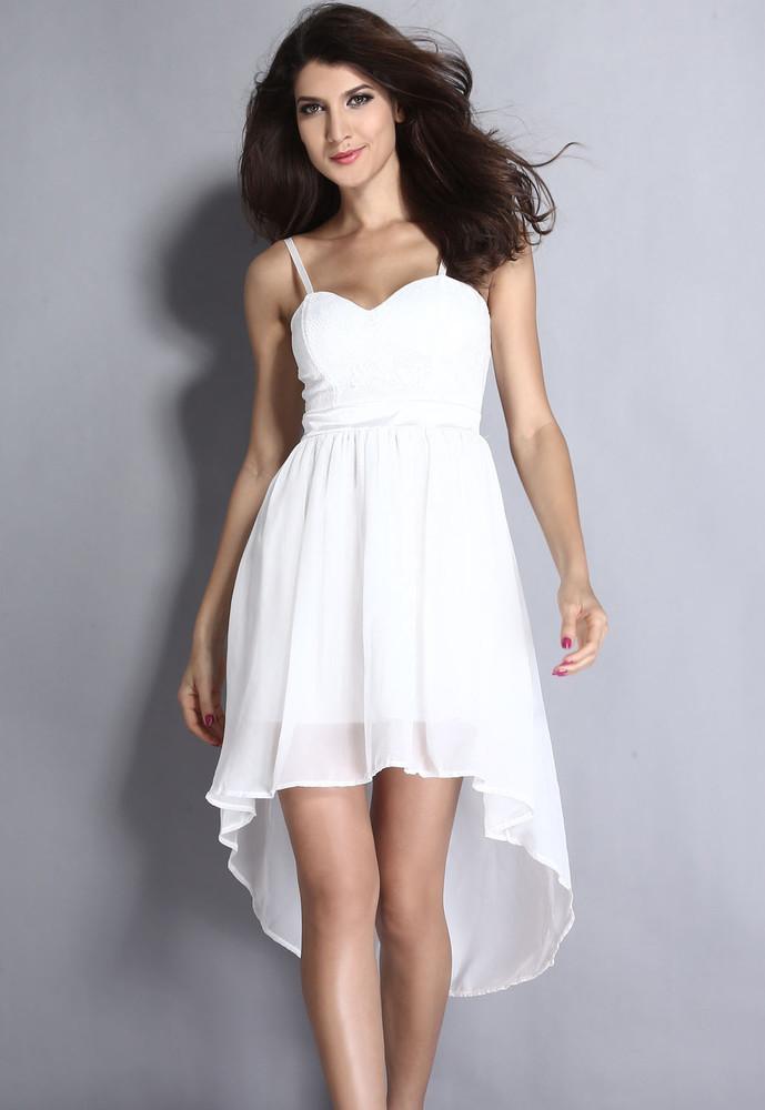 141a9b78997 Bílé společenské šaty - DAMSON - Večerní šaty a koktejlové šaty - i ...