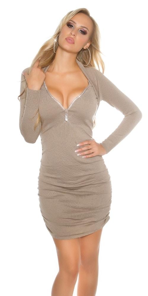 Úpletové elegantní šaty - Koucla - Úpletové šaty - i-moda.cz 6c149d18b63