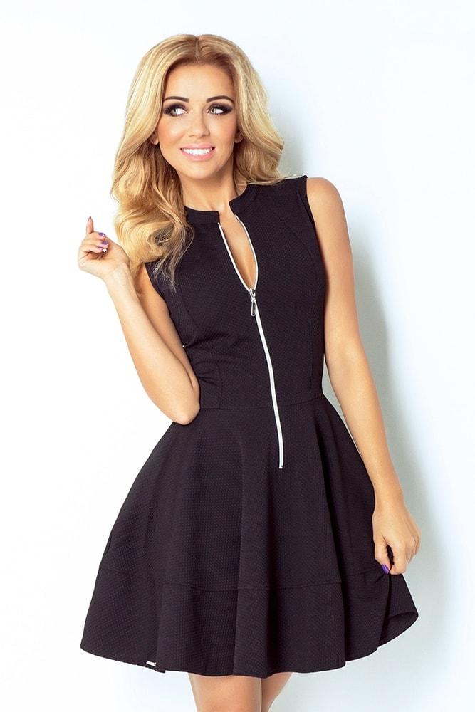 Dámske šaty čierne 123-3 - XL Numoco nm-sat123bl b6b1a23bc25