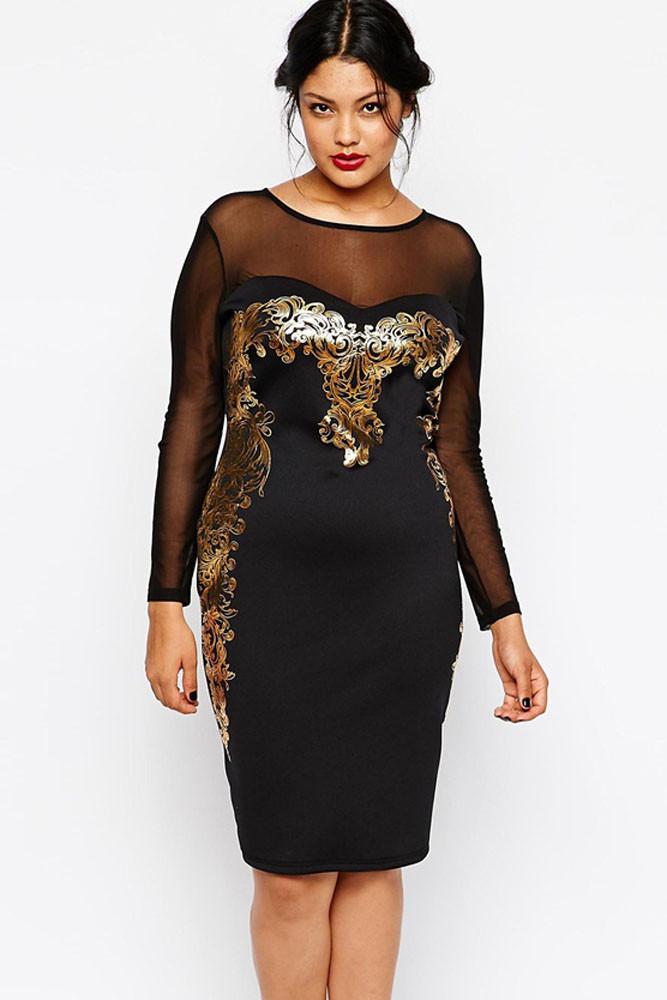 Večerné šaty dámske pre plnoštíhle - DAMSON - Večerné šaty a ... 9cf3eca3642