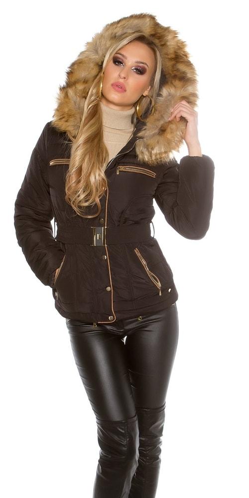 Dámska zimná bunda Koucla in-bu1162bl