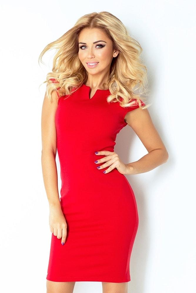 Červené dámske šaty 132-2 - XXL Numoco nm-sat132re