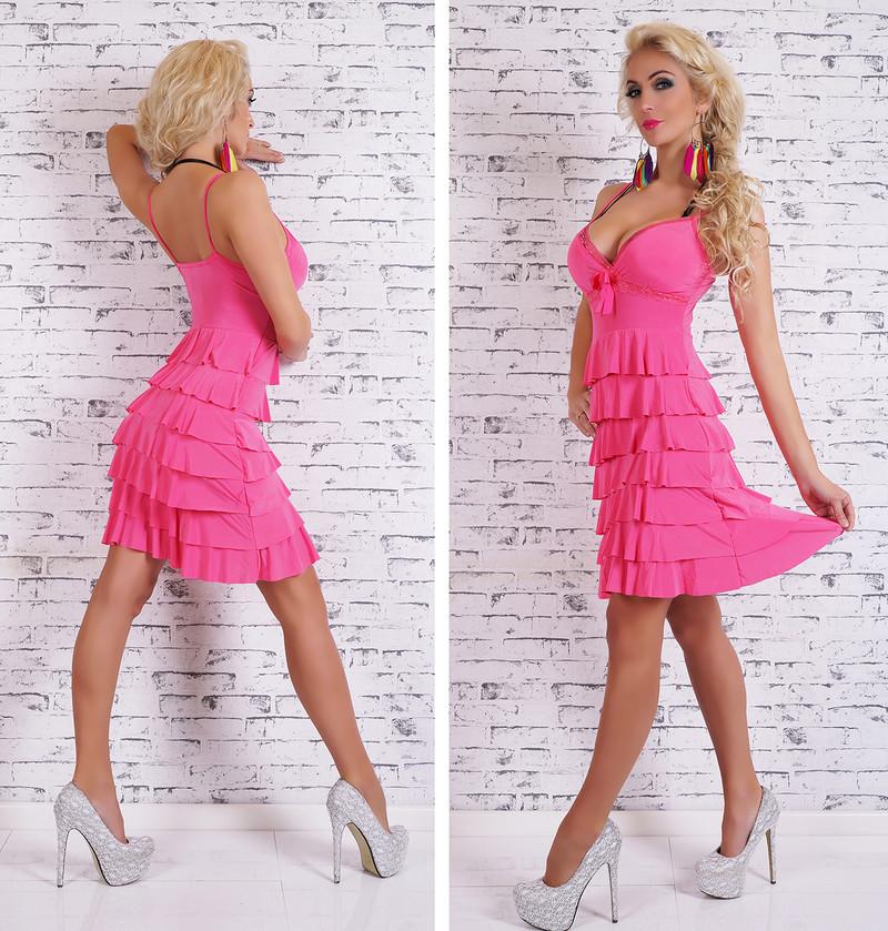 965b2daca56 Dívčí letní šaty - růžové - EU - Krátké letní šaty - i-moda.cz
