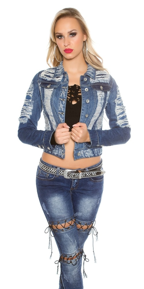 Dámska džínsová bunda Koucla in-bu1170